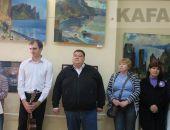 В Феодосии открылась выставка картин Сергея Кветкова :фоторепортаж