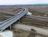 Строительство автоподходов к Крымскому мосту завершат в ближайшие дни