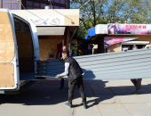 В столице Крыма идёт демонтаж объектов на площади Куйбышева (фото)