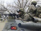 На полигонах в Крыму морпехи ЧФ учились отражать высадку десанта на побережье