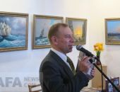 В Феодосии Дмитрий Лосев презентовал три новые книги (видео):фоторепортаж