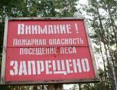 Власти Крыма запретили гражданам посещать леса