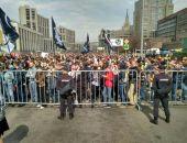 В Москве собрался многотысячный митинг за свободу интернета