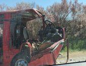 Сегодня на трассе Симферополь - Евпатория столкнулись микроавтобус и автомобиль, 7 пострадавших