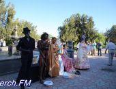 В Керчи крымчане приняли участие в первом фестивале живых скульптур (фото)