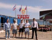 Строитель Крымского моста стал миллионным пассажиром Керченской паромной переправы