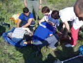 В Крыму спасатели оказали помощь неудачно приземлившемуся парапланеристу (фото)