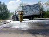 Сегодня в Крыму на трассе Симферополь – Джанкой на ходу загорелась ГАЗель (видео)