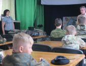 В Феодосии юные кадеты получили казачью форму
