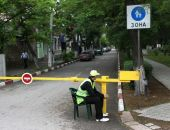 Феодосийскую набережную оградят шлагбаумами