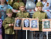 В Феодосии прошел парад Победы (видео)