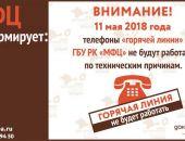 """В Крыму один день не будет работать """"горячая линия"""" МФЦ"""