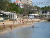 Пляжи Феодосии готовят к сезону