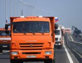 Движение грузовиков по Крымскому мосту откроется 1 октября 2018