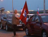 Сегодня утром стартовало автомобильное движение по Крымскому мосту