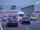 За первые сутки по Крымскому мосту проехали 20 тысяч автомобилей