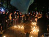 Феодосийцы почтили память жертв депортации зажженными свечами