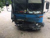 В Крыму сегодня на трассе Севастополь – Ялта разбился грузовой автомобиль (фото):обновлено