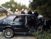 В Крыму на автодороге Алушта – Изобильное столкнулись два автомобиля ВАЗ