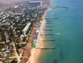 «Крымдорстрой» укрепляет берег в Приморском