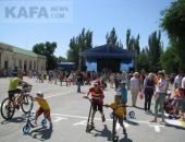 В Феодосии тожественно отметили День защиты детей (видео)