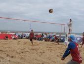 В Феодосии прошел открытый кубок по пляжному волейболу