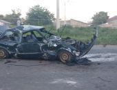 В столице Крыма автомобиль BMW «покувыркался» на дороге, водитель жив (фото) (видео)