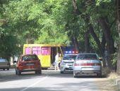В Керчи пьяная компания угнала и разбила маршрутку (фото)