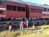 В Крыму поезд наехал на сидевшего на рельсах пьяного мужчину