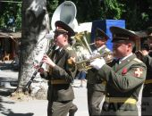 В Феодосии прошел фестиваль военных оркестров (видео)