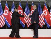Дональд Трамп и Ким Чен Ын встретились в Сингапуре и пожали друг другу руки