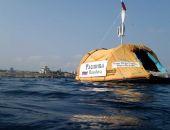 Путешественник Бурлак решил добраться вплавь от Севастополя до Афин