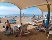 В Крыму установилась жаркая погода, дождей не ожидается, вода в море прогрелась до +23
