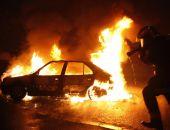 В Ялте вчера сгорел автомобиль ВАЗ, от огня также расплавились мусорные баки