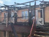 В Крыму сотрудники МЧС ликвидировали пожар в евпаторийском санатории (фото) (видео)