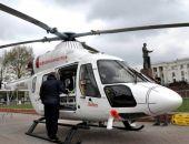 Медики вертолётом доставили в ожоговый центр Симферополя двух пострадавших на пожаре в Евпатории