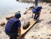 "В акватории пляжа ""Суворинские камни"" феодосиец нашел авиабомбу времён ВОВ, её обезвредили сотрудники МЧС"