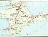 """В Крыму хотят построить железную дорогу – от аэропорта """"Симферополь"""" до Феодосии"""
