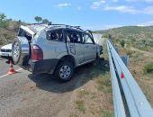 Сегодня утром на трассе Судак- Алушта столкнулись две иномарки, пострадало 11 человек