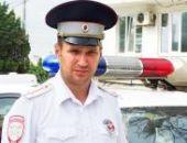 В Севастополе инспектор ДПС предотвратил ДТП, остановив на ходу неуправляемый автобус