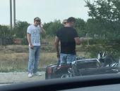 В Феодосии сегодня на Керченском шоссе сбили мотоциклиста (фото) (дополнено)