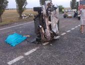 В Крыму на трассе Джанкой – Симферополь в жутком ДТП погибли два человека (фото):фоторепортаж
