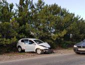 Под Севастополем в ДТП попали три автомобиля, в одном - семья с четырьмя детьми