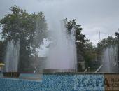 В Феодосии торжественно запустили Светомузыкальный фонтан (видео):фоторепортаж