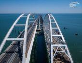 По Крымскому мосту вчера проехали 32,4 тыс. автомобилей – это новый рекорд трафика