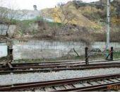 В центре Севастополя оползнем повреждены железнодорожные пути