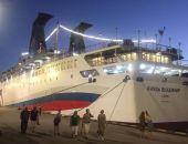 «Князь Владимир» после многочасовых попыток зашел в порт Ялты, сейчас идёт в Сочи