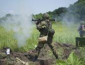 На полигонах в Крыму отдельная бригада морской пехоты ЧФ проводит боевые стрельбы