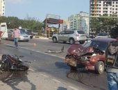 В Крыму на ЮБК легковой автомобиль сбил мотоцикл, погиб пассажир байка (фото)