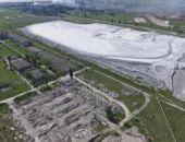 В Крыму не будут приостанавливать работу завода, где был выброс из кислотного накопителя